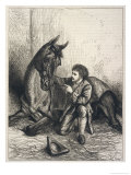 James Sullivan the Irish Horse Whisperer'of Dunhallow County Cork Giclee Print by Harrison Weir