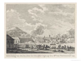Siege of Toulon in the Face of a Fierce Siege Giclée-Druck von Vinkeles & Vrydag