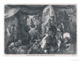 Theodoric King of Ostrogoths Enters Rome Giclee Print by Hermann Vogel