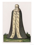Witwentracht a German Widow in Her Mourning Weeds Giclee Print