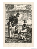 Mr. Harthouse and Tom Gradgrind in the Garden Giclee Print by Frederick Walker