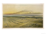 Graves of the Dead from the Battle of Inkerman Giclee Print by E. Walker