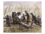 German Forces Put up Dogged Resistance During the Final Days of War Giclee Print