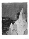 Death Sits on the Iceberg Grinning Waiting for the Titanic to Crash into It Giclee Print by Erich Wilke