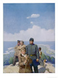 The Mysterious Island Giclee Print by Newell Convers Wyeth