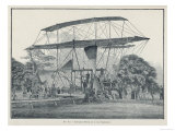 Hiram Maxim's First Flying Machine, a Monster Which Became Less Ungainly in Subsequent Models Giclee Print