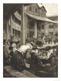 Henry IV, Masked Ladies in the &quot;Pit&quot; Watching a Performance of Shakespeare&#39;s Henry IV Reproduction proc&#233;d&#233; gicl&#233;e