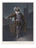 """""""Cyrano de Bergerac,"""" Coquelin as Cyrano Giclee Print"""