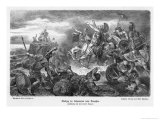 Xenophon Retreating in Persia Reaches the Black Sea Giclee Print by Hermann Vogel