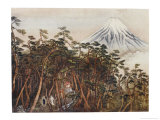 The Spirit of Mount Fuji Shows Yosoji the Health-Giving Stream Giclee Print by R. Gordon Smith