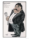 Ruggero Leoncavallo Italian Opera Composer Looking Rather Pleased with Himself Giclee Print