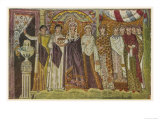 Empress Theodora Wife of Justinian Giclee Print