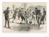 Association Football Giclee Print
