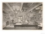 The Zoological Laboratory on Board the Challenger Giclee Print