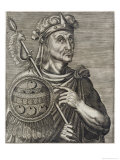 Montezuma II, Aztec Emperor of Mexico Giclee Print by Andre Thevet