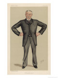 James Monro Commissioner of the Metropolitan Police 1888-1890 Giclee Print by  Spy (Leslie M. Ward)