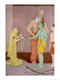 Rama Weds Sita Giclee Print by K. Venkatappa