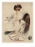 Ja Oder Nein Giclee Print by L. Vallet