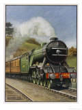"The London and North Eastern Railway's ""Flying Scotsman"" Express Giclee Print by Barnard Way"