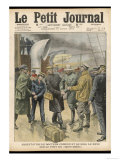 Dr. Peter Hawley Harvey Crippen and His Accomplice Miss le Neve are Arrested on Board the Montrose Giclee Print