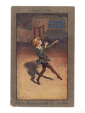 Peter Pan Dances with His Own Shadow Giclee Print