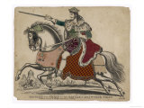 King Richard III of England Depicted at the Fatal Battle of Bosworth Field Giclee Print