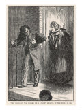 23rd March 1857 Emile l'Angelier is Taken Fatally Ill Giclee Print by F.h. Townsend