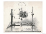 Cranionmeter Holds a Skull in Place Giclee Print