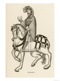 The Knight on a Fine Horse Giclee Print