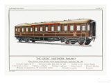 Great Northern Railway Sleeping Carriage Giclee Print by W.j. Stokoe