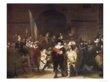 The Night Watch Amsterdam Premium Giclee Print