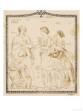 Ancient Greece: Game of Astragali Giclee Print