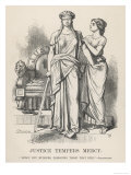 "Henry VI, Justice Tempers Mercy ""Mercy But Murders Pardoning Those That Kill."", Shakespeare Giclee Print"