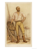 Frederick Selous, Traveller and Hunter in Africa Giclée-Druck von M. Vine