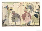 "Satire on the Current ""Peacock"" Modes Giclee-vedos tekijänä Gerda Wegener"