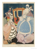Cinderella is Given the Most Precious of All Gifts in War- Time France, a Pair of New Shoes Giclee Print by Gerda Wegener