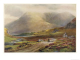 Irish Scenery: Pass of Delphi Killary Bay Giclee Print by Alex Williams