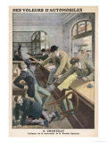 The Bonnot Gang Raid a Bank at Chantilly Killing Two Staff Giclee Print