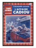 The Cadiou Affair Reproduction proc&#233;d&#233; gicl&#233;e par Maurice Toussaint