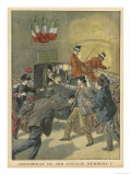 King Umberto Assassinated at Monza by the Anarchist Bresci Giclee Print