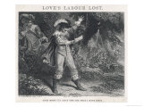 Love&#39;s Labour Lost, Act IV Scene III: Once More I&#39;ll Read the Ode That I Have Writ Giclee Print by J. Thompson