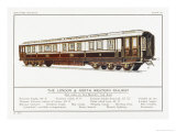 Royal Coach of the London and North Western Railway Giclee Print by W.j. Stokoe