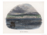 "An Example of a ""Fata Morgana"" Mirage in the Straits of Messina Giclee Print by J.w. Whimper"