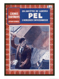 The Pel Poisoning Affair: Reproduction proc&#233;d&#233; gicl&#233;e par Maurice Toussaint