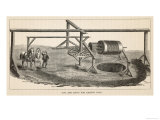 Cog and Rung Mechanism for Raising Coal from the Pit Giclee Print