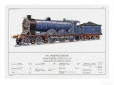 Caledonian Railway Express Loco No 903 Giclee Print by W.j. Stokoe