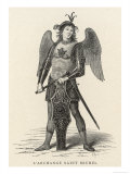 The Archangel Michael Reproduction procédé giclée