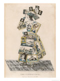 The Picture Library Girl Giclee Print by G. Spratt