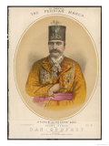 Naser Od-Din Shah of Persia Featured Premium Giclee Print