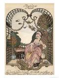 Aupres de Ma Blonde Giclee Print by Gerda Wegener